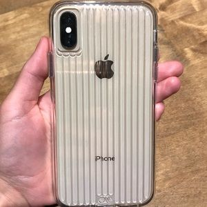 iPhone xs Casemate tough groove case
